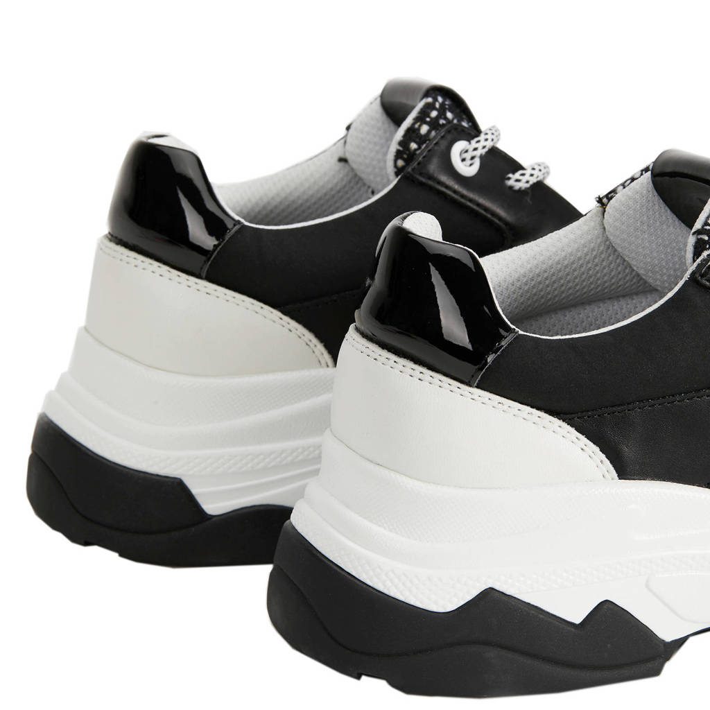 Chunky Chunky Sneakers Parfois Zwart Sneakers wit Parfois z5qTxrwq