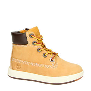 David Square  nubuck veterboots geel