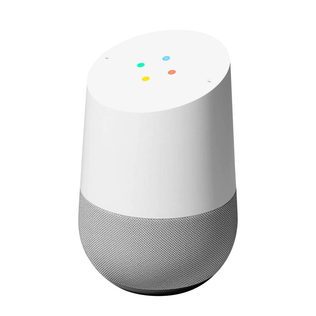 Google  Home speaker (wit), Grijs, wit