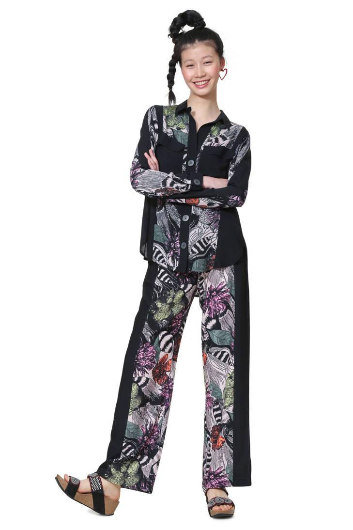 Desigual met zwart blouse print allover rr8Fwq05