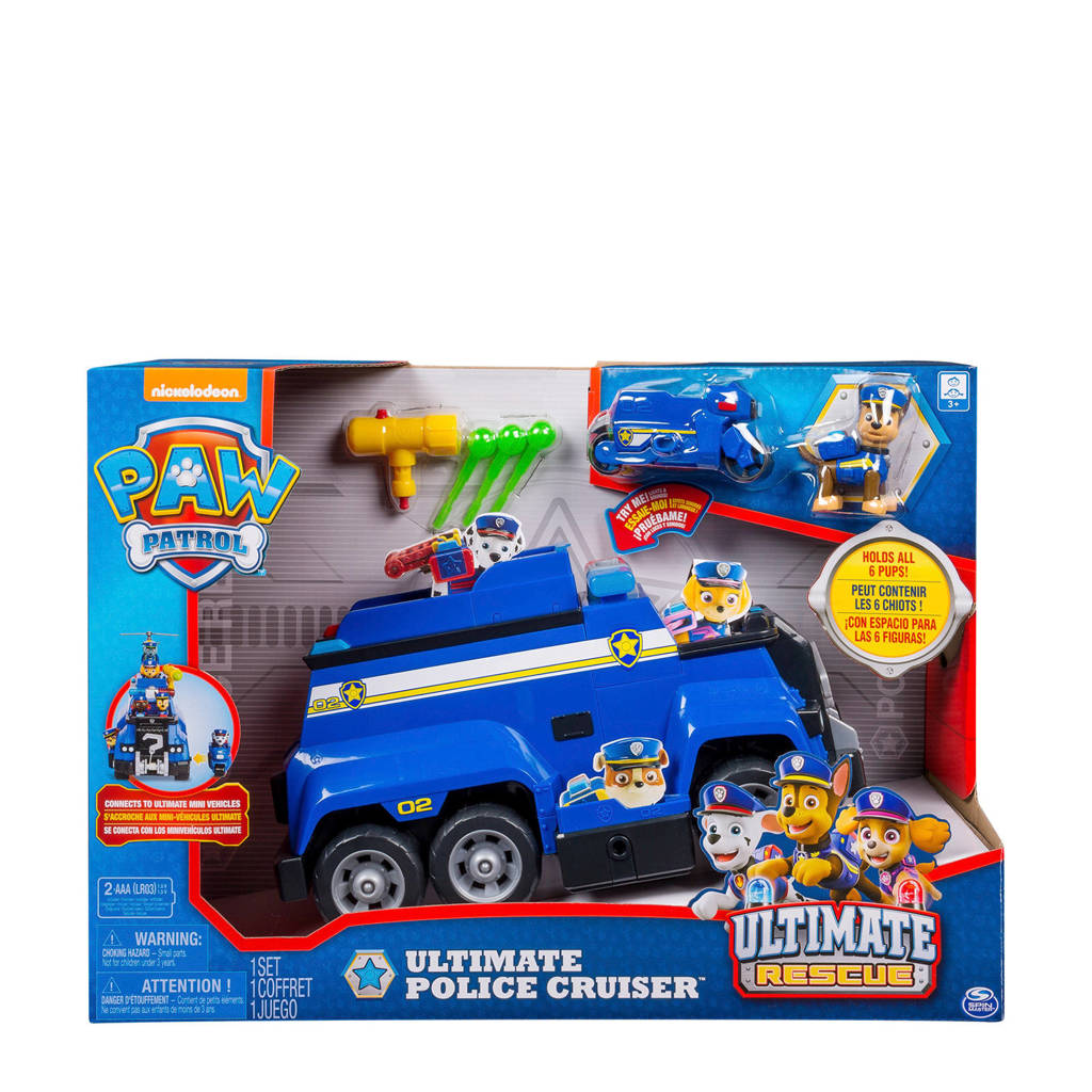 Paw Patrol  Ultimate Rescue Police Cruiser