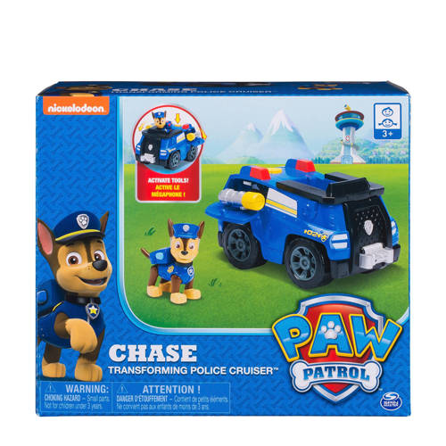 Paw Patrol transformeerbare politiewagen kopen