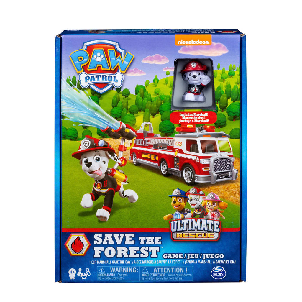 Paw Patrol Marshall's Fire Rescue kinderspel