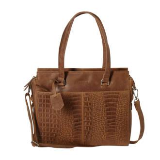 ca18b577dd5 BURKELY. leren tas About Ally Handbag S cognac