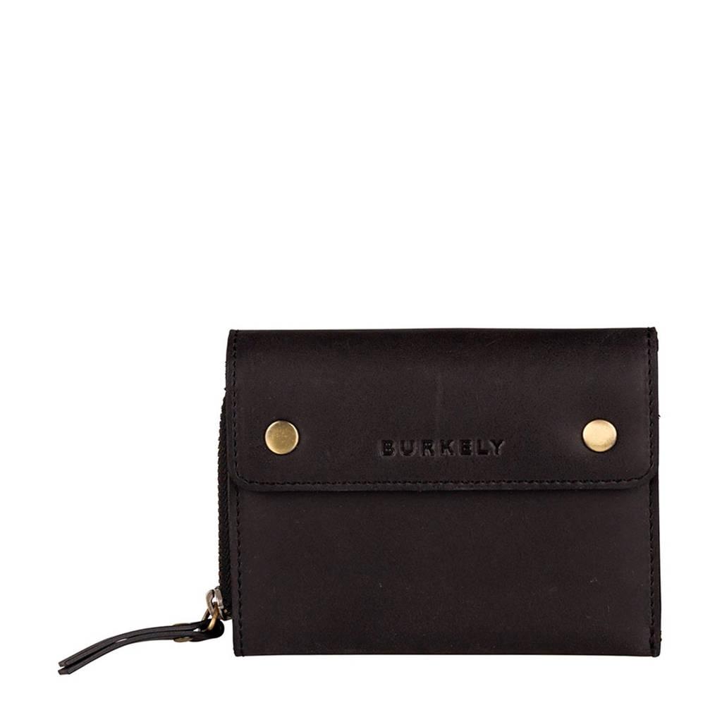 BURKELY portemonnee zwart, Zwart