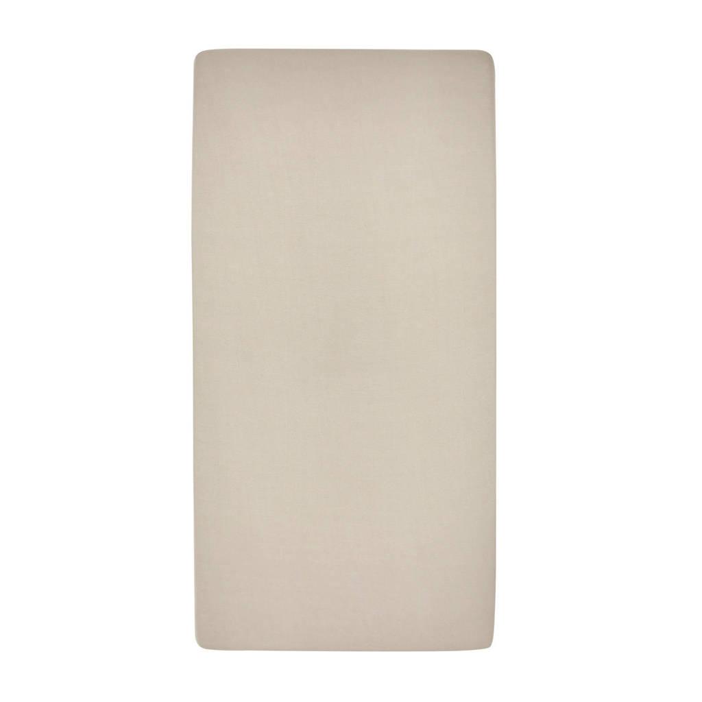 Meyco katoenen jersey hoeslaken peuterbed 70x140/150 cm Zand