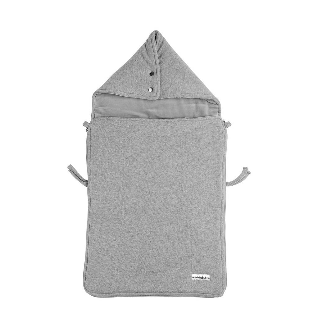 Meyco Knit Basic voetenzak grijs, Grijs