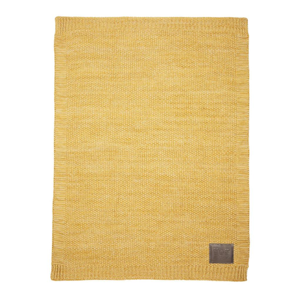 by Meyco wiegdeken 75x100 cm geel, Geel