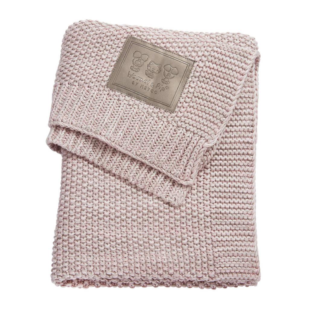 by Meyco wiegdeken 75x100 cm roze, Roze
