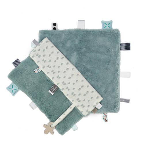 Snoozebaby Sweet Dreaming gray mist knuffeldoekje kopen