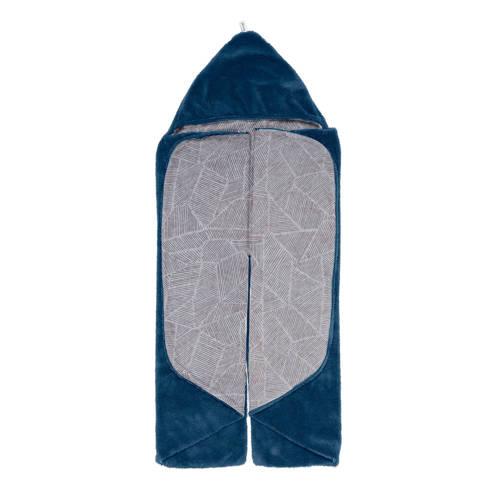 Snoozebaby Trendy Wrapping wikkeldeken midnight blue