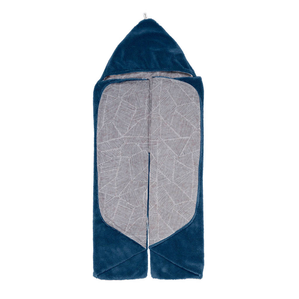 Snoozebaby Trendy Wrapping wikkeldeken midnight blue, Blauw