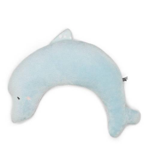 Snoozebaby Dolly Dolphin voedingskussen blauw kopen