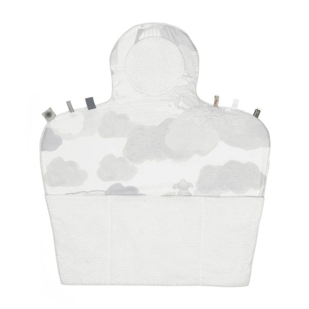 Snoozebaby Easy Changing verschoonmatje star white, Wit
