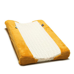 aankleedkussenhoes 75x45 cm geel