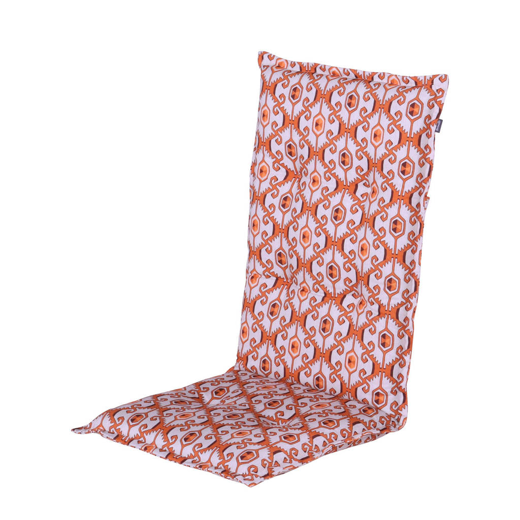 Hartman tuinkussen (hoge rug, set van 2) Limay, Oranje
