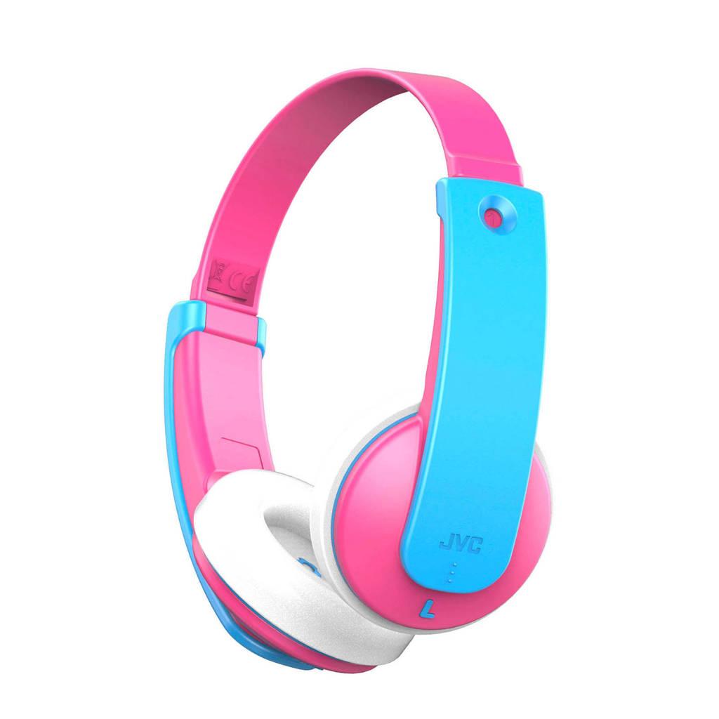 JVC  HA-KD9BT Bluetooth on-ear kinderkoptelefoon, Blue,Pink