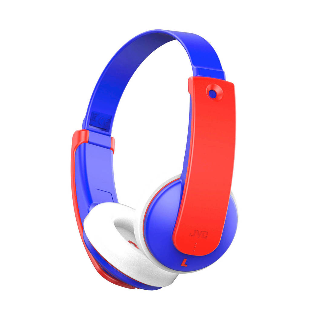 JVC  Bluetooth on-ear kinderkoptelefoon, Blauw