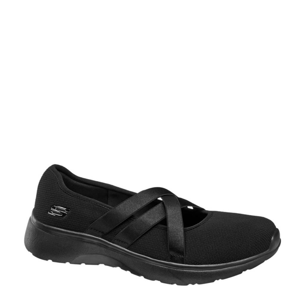 Skechers ballerina's zwart, Zwart