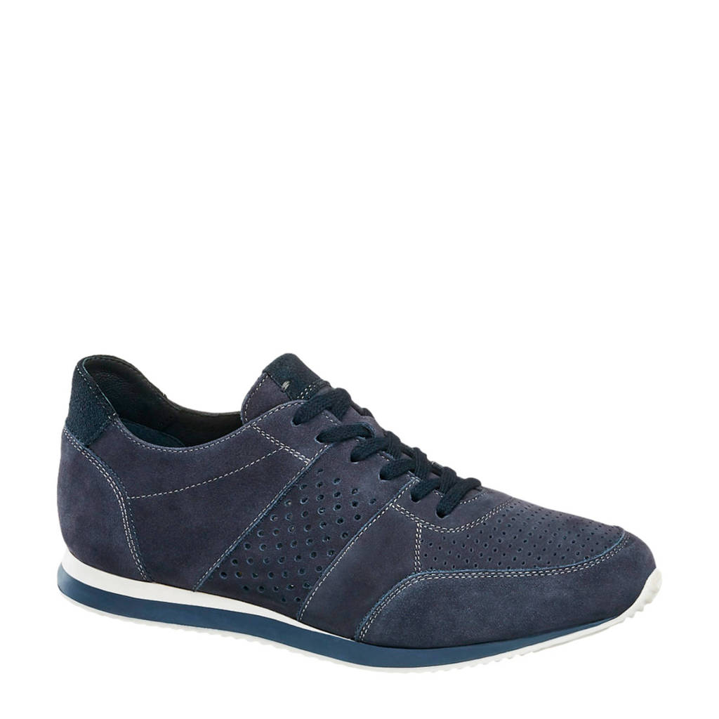 5th Avenue   suède sneakers donkerblauw, Blauw
