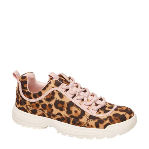 Graceland sneakers met luipaardprint