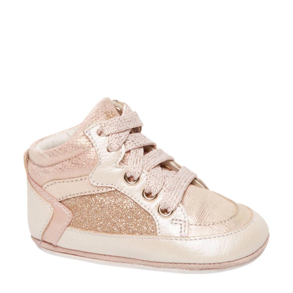 Cupcake Couture   leren babyschoenen roze, roze/goud