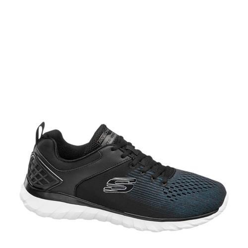 Skechers sneakers zwart/antraciet