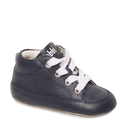 Bobbi-Shoes leren babyschoenen blauw kopen