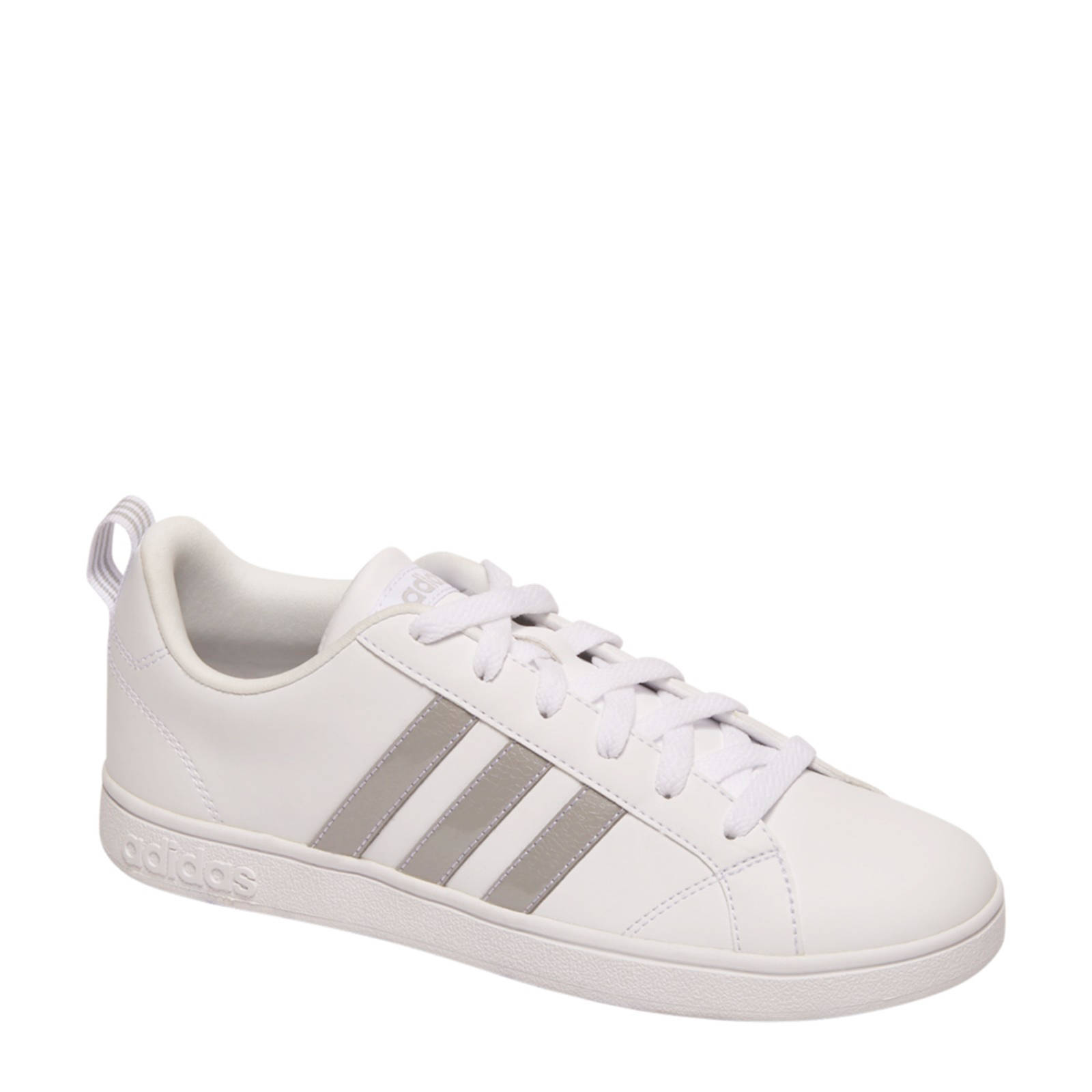 adidas VS Advantage sneakers wit/zilver | wehkamp