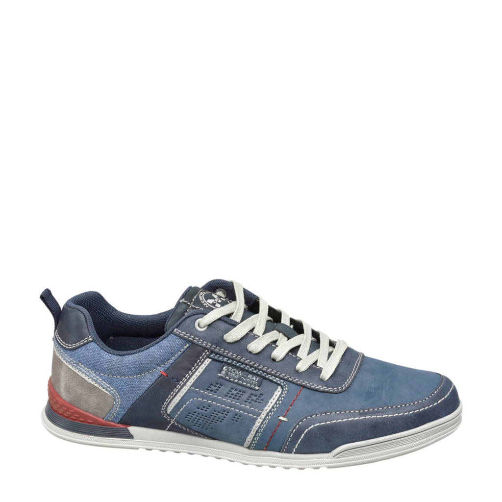 Memphis One   sneakers blauw, Blauw