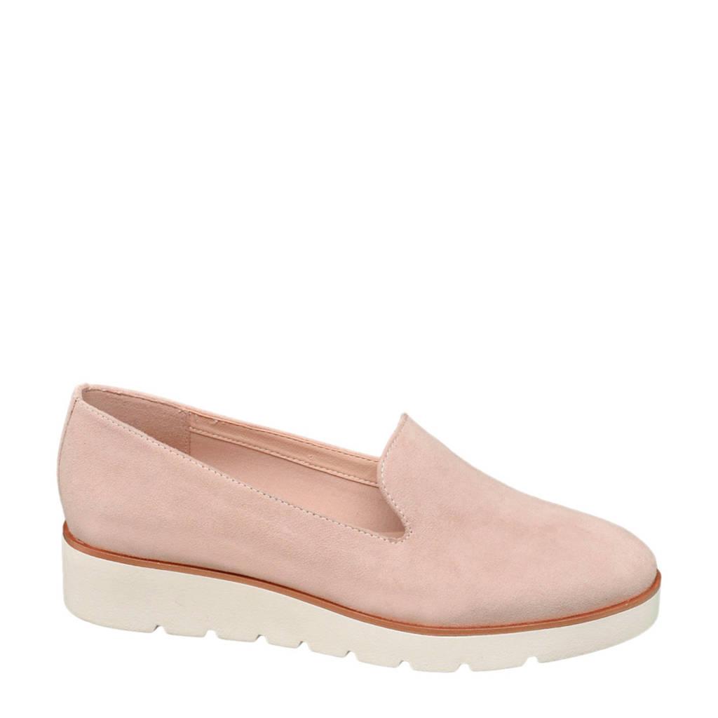 Graceland loafers roze, Roze