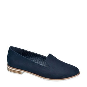 loafers donkerblauw