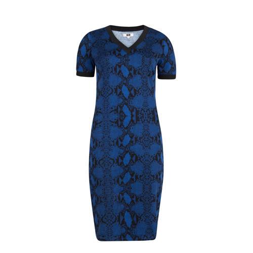 WE Fashion aansluitende jurk met slangenprint