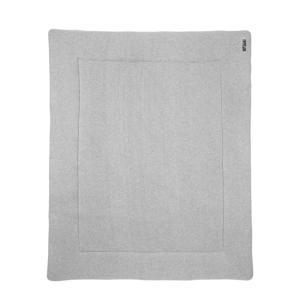 Knit Basic boxkleed 77x97 cm grijs melange