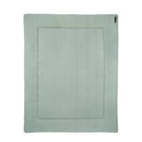 Meyco Knit Basic boxkleed 77x97 cm groen, Groen