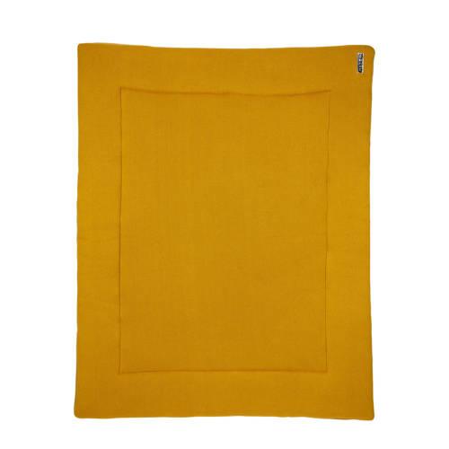 Meyco Knit Basic boxkleed 77x97 cm okergeel kopen