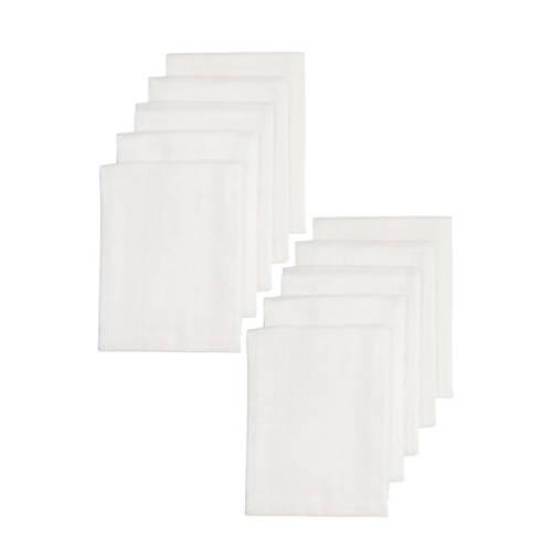 Meyco hydrofiele luiers 70x70 cm wit - set van 10 kopen