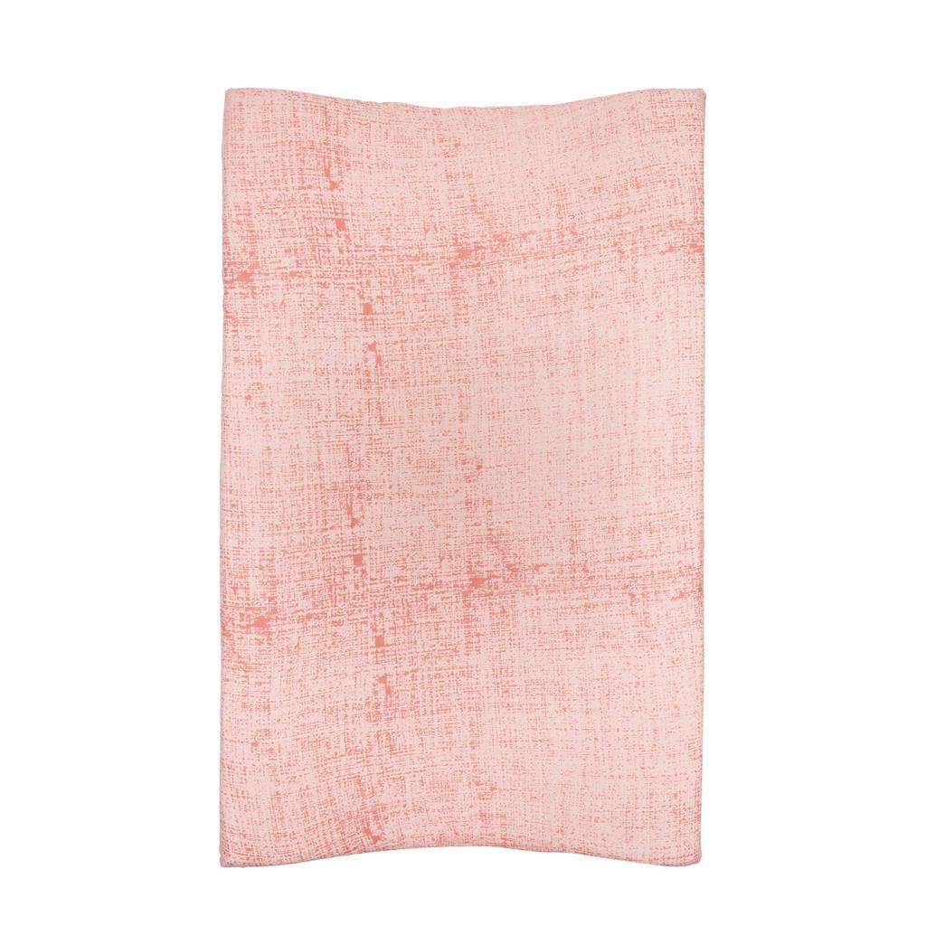 Meyco Fine lines hydrofiele aankleedkussenhoes roze, Roze