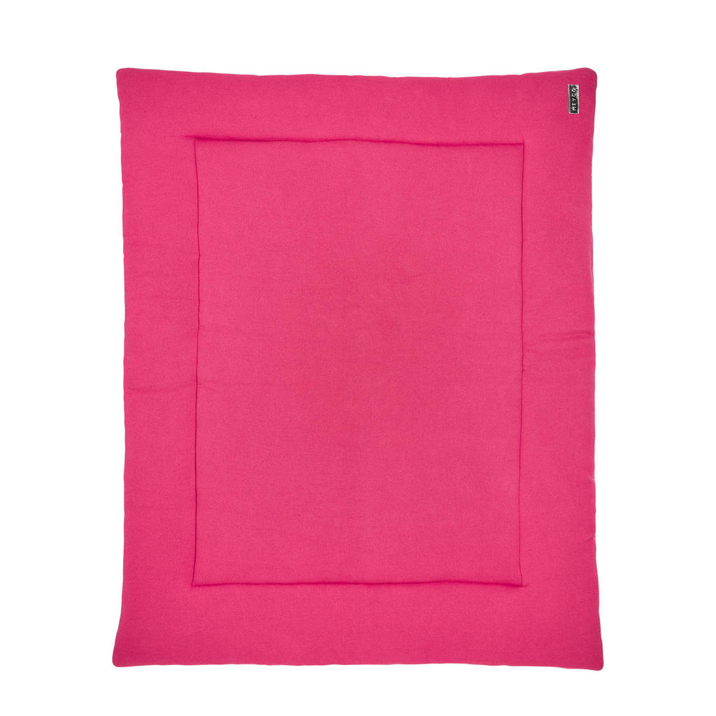 Meyco Knit Basic boxkleed 77x97 cm bright pink, Bright Pink