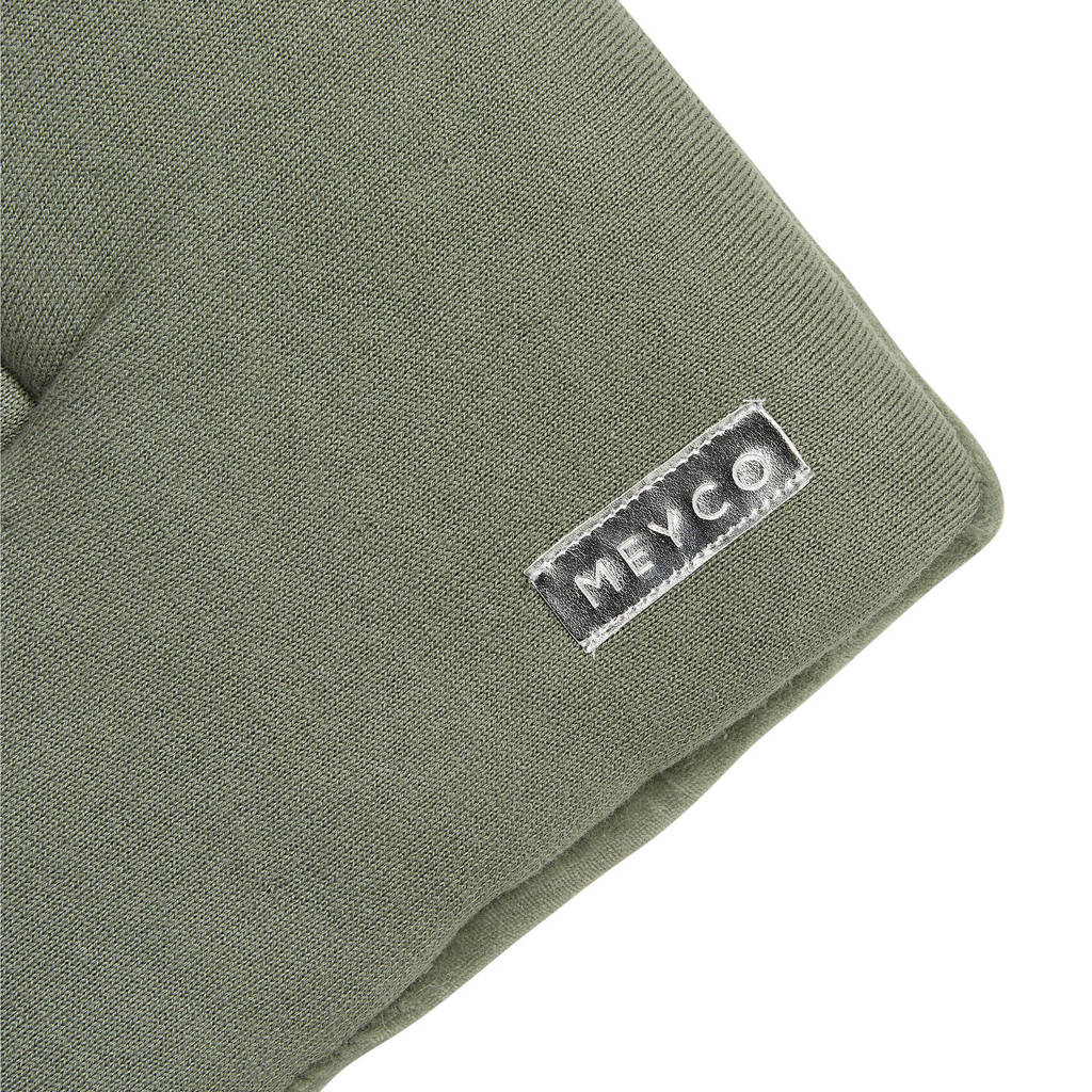 Meyco Knit Basic boxkleed 77x97 cm forrest green, FORREST GREEN