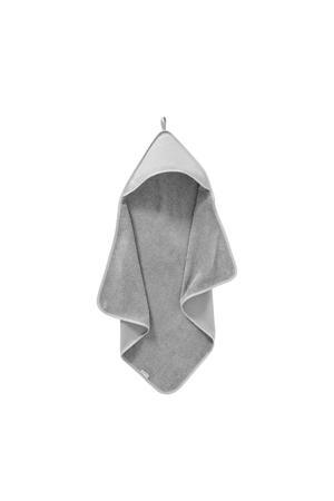 badcape diamantwafel 75 x 75 cm grijs