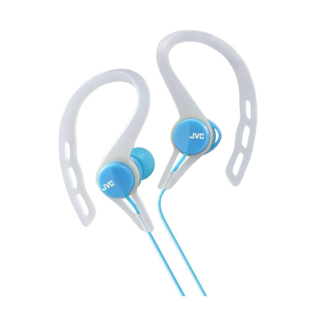 JVC HA-ECX20-A-E sport oortjes, Blauw, wit