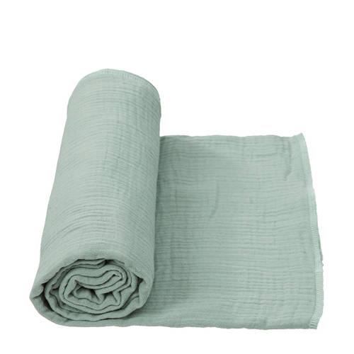 Cottonbaby multidoek soft XL 120 x 120 cm oudgroen kopen