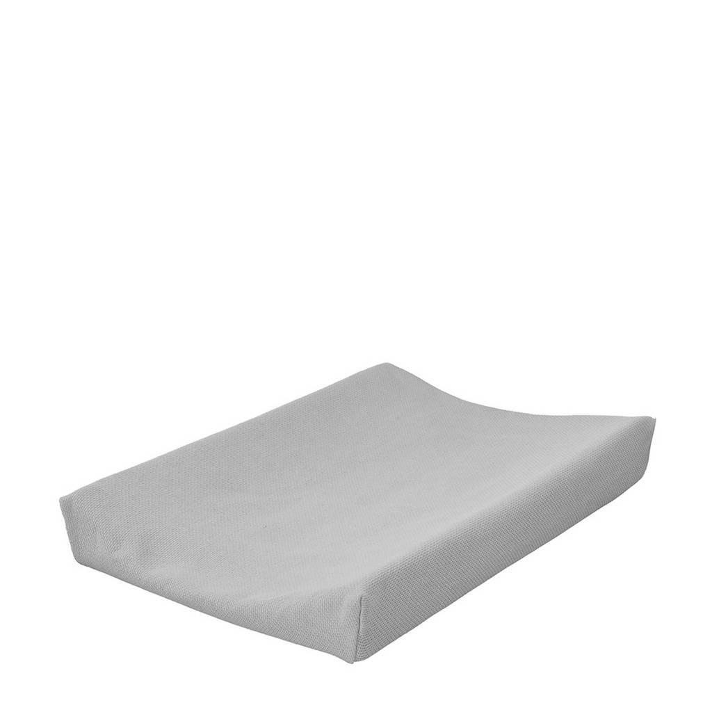Cottonbaby aankleedkussenhoes diamantwafel 72 x 46 cm grijs, Grijs