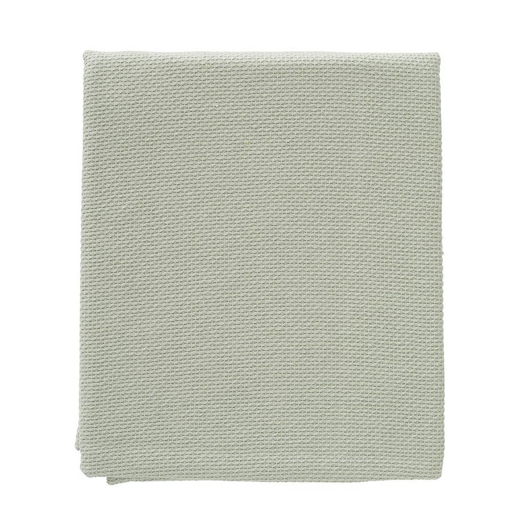Cottonbaby wiegdeken diamantwafel 75x90 cm oudgroen, Oudgroen