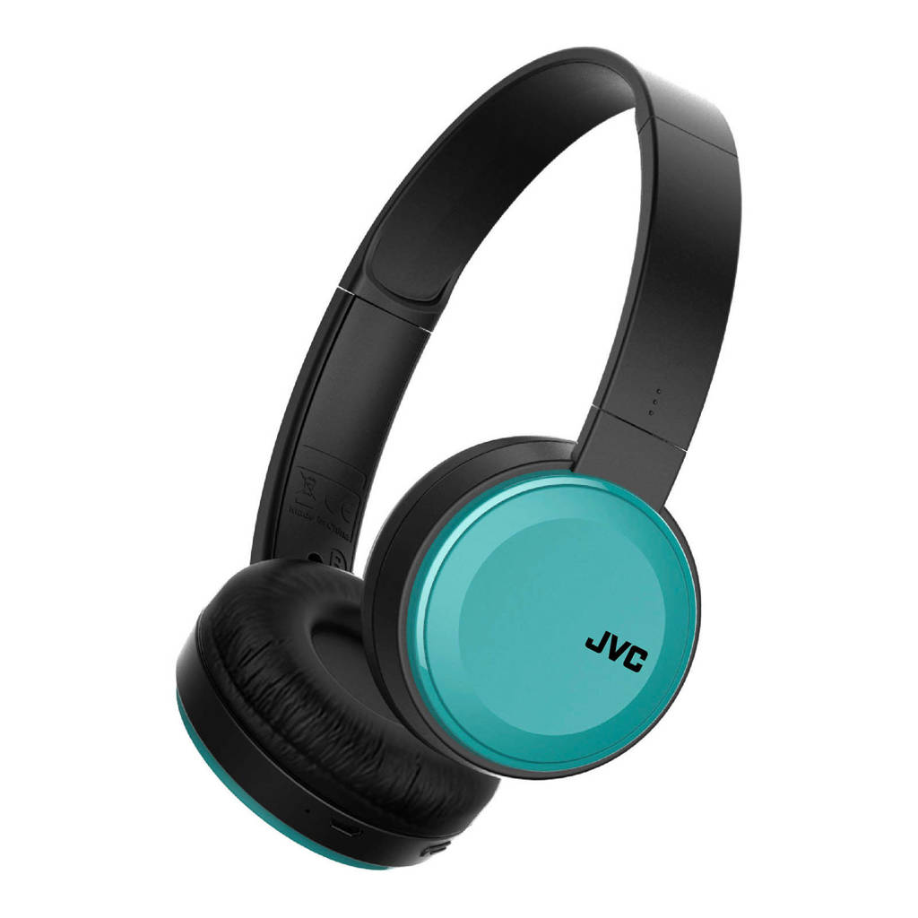 JVC HA-S30BT-A-E Bluetooth on-ear koptelefoon, Zwart, Blauw