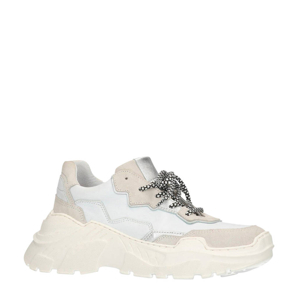 Sacha   dad sneakers, Wit