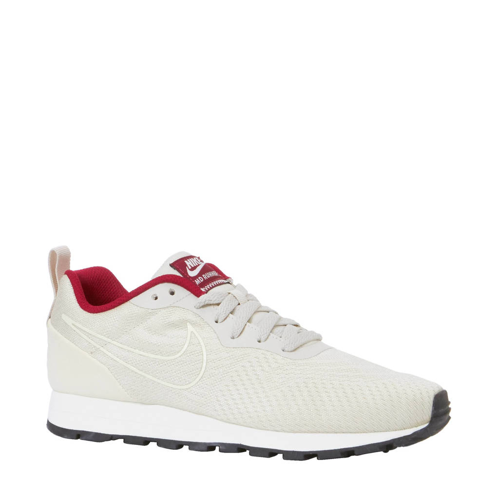 0eb5f560f66 Nike MD Runner 2 Eng Mesh sneakers, zand/rood/wit