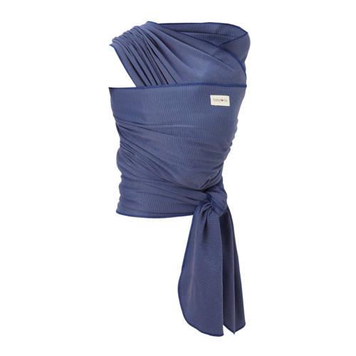 Babylonia draagdoek tricot-slen bamboo blauw kopen