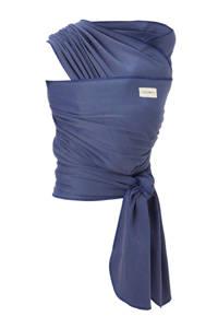 Babylonia draagdoek tricot-slen bamboo blauw, Blauw